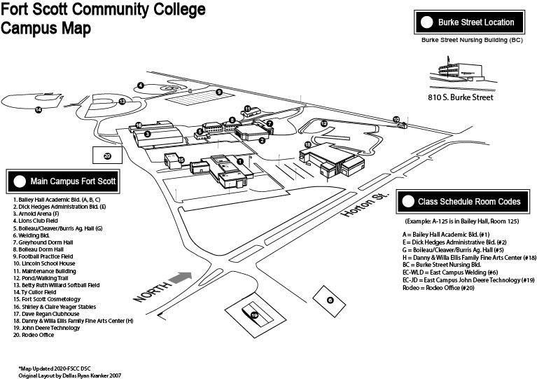 FSCC Campus Map
