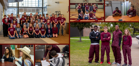 collage of pictures of FSCC students
